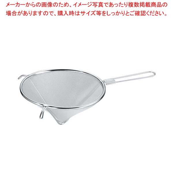 【まとめ買い10個セット品】 EBM 18-8 とんがりシノア 18cm【 スープこし 】