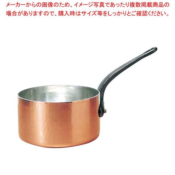 ムヴィエール 銅 キャセロール(蓋無)2143-18 18cm【 ガス専用鍋 】