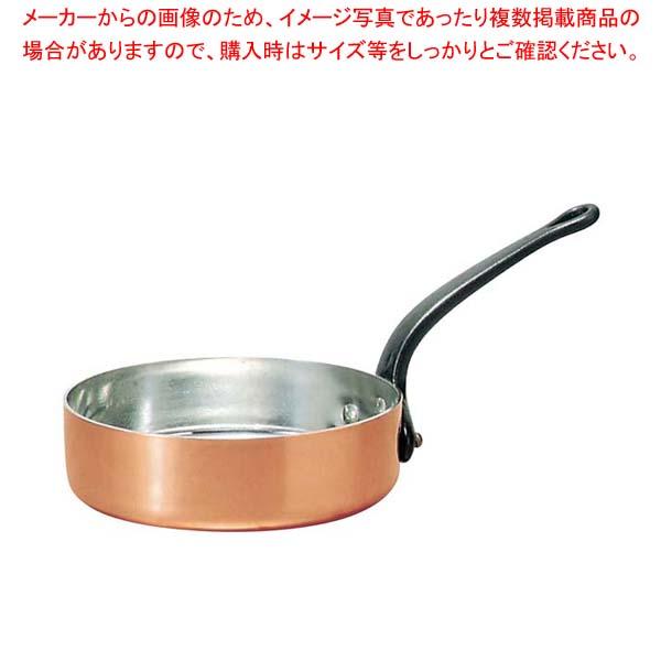 【まとめ買い10個セット品】 ムヴィエール 銅 ソテーパン(蓋無)2145-18 18cm【 ガス専用鍋 】