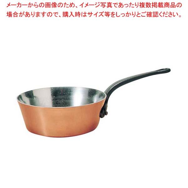 ムヴィエール 銅 ソトーズ(蓋無)2146-24 24cm【 ガス専用鍋 】