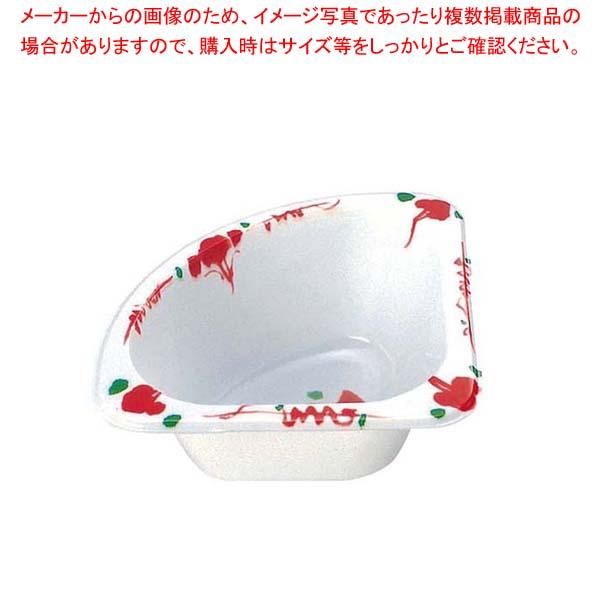 【まとめ買い10個セット品】 プラカップ 赤絵 三角コーナー TZ-2(500枚入)【 厨房消耗品 】