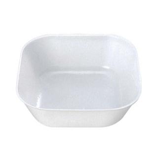 【まとめ買い10個セット品】 プラカップ 白(小)角型 TZ-5(500枚入)