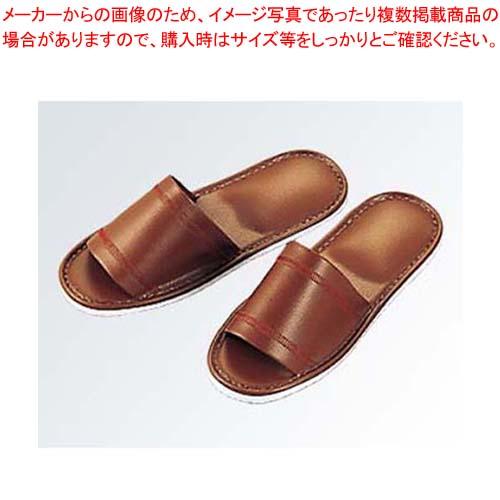 【まとめ買い10個セット品】 スリッパ S-1270L ブラウン(013)