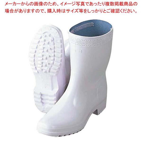 【まとめ買い10個セット品】 アキレス 長靴 ハイルクスホワイト 27cm【 ユニフォーム 】