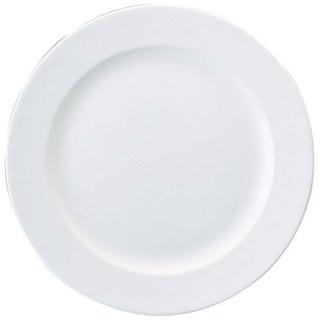 【まとめ買い10個セット品】 W・W ホワイトコノート 丸皿 22cm 53610001003