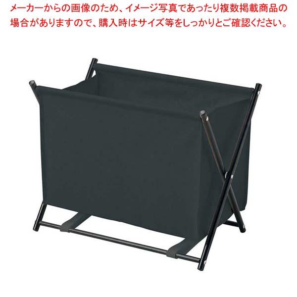 【まとめ買い10個セット品】 えいむ 折りたたみ式バッグケース BR-103 ブラック