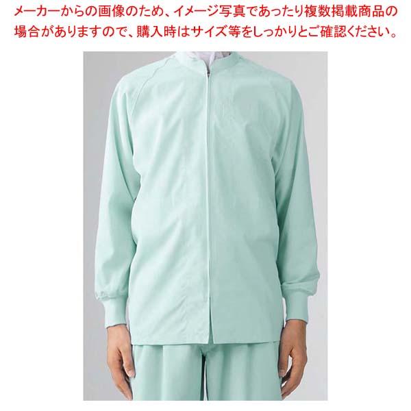 【まとめ買い10個セット品】 男女兼用ブルゾン(長袖)8-425 グリーン M