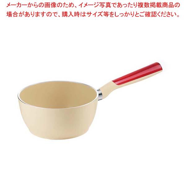 【まとめ買い10個セット品】 グッチーニ 片手ソースパン16cm 227900 65レッド【 オーブンウェア 】