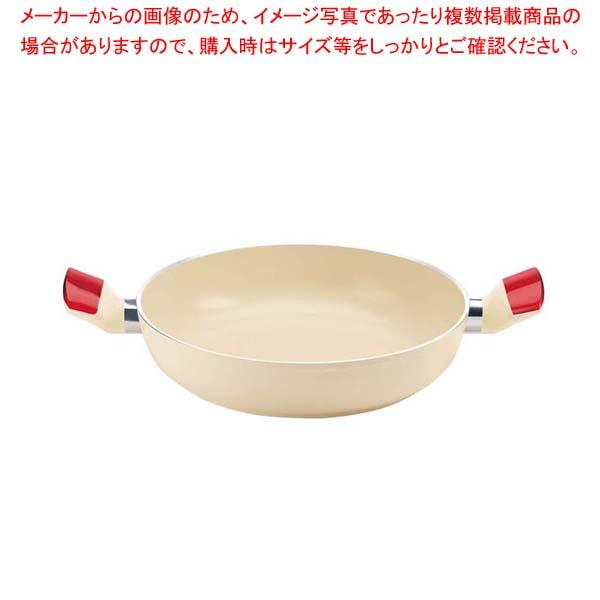 【まとめ買い10個セット品】 グッチーニ キャセロール28cm 228001 65レッド【 オーブンウェア 】
