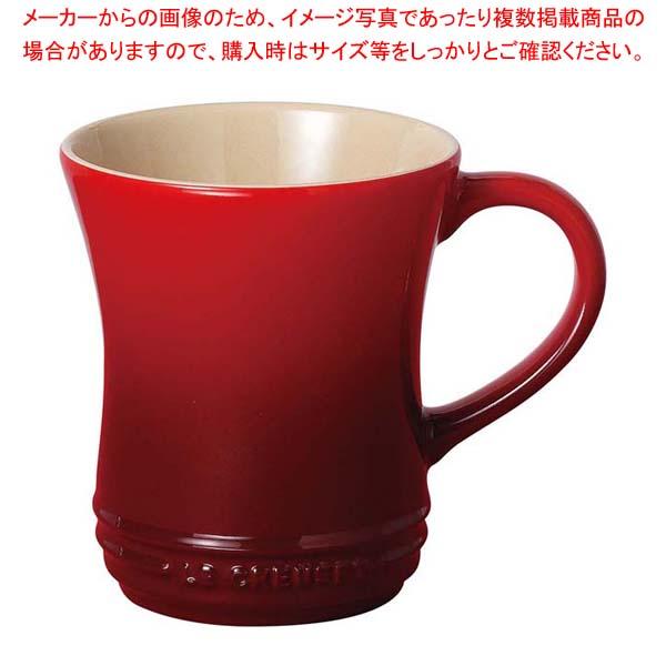 【まとめ買い10個セット品】 ル・クルーゼ マグカップ S 910072 チェリーレッド(06)
