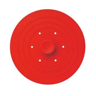 【まとめ買い10個セット品】 ル・クルーゼ シリコン マルチリッド 930072 チェリーレッド