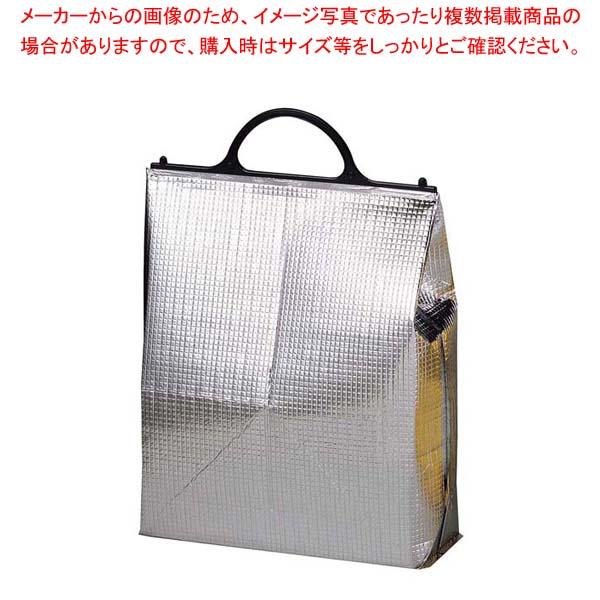 【まとめ買い10個セット品】 保冷・保温バッグ エスケークール シルバー(10枚入)PT-3
