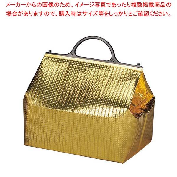 【まとめ買い10個セット品】 保冷・保温バッグ エスケークール ゴールド(10枚入)PT-7