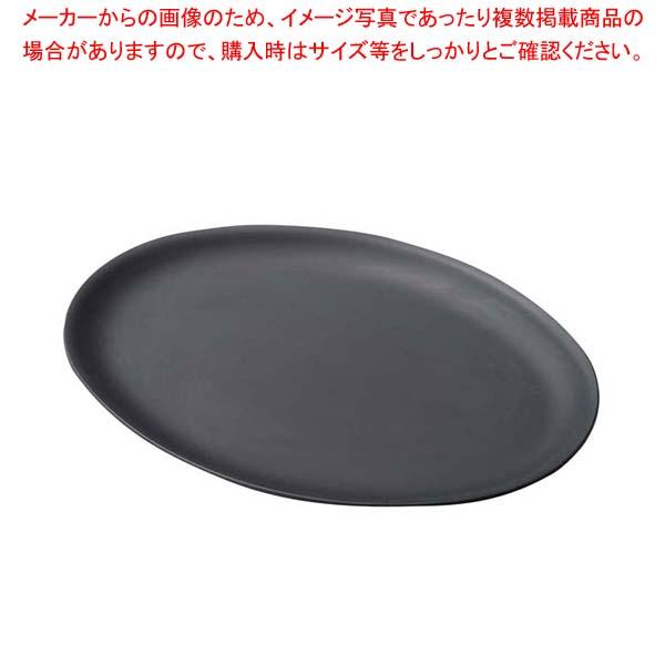 【まとめ買い10個セット品】 鉄製プレス陶板 小判 M20-710【 卓上鍋・焼物用品 】