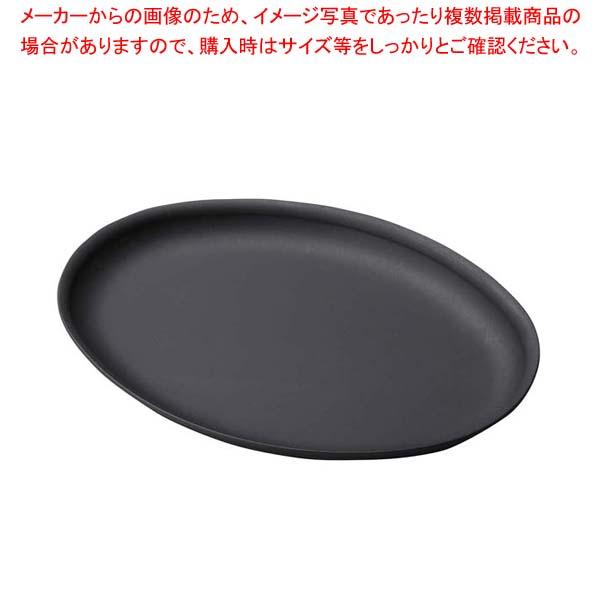 【まとめ買い10個セット品】 鉄製プレス陶板 小判 深 M20-719【 卓上鍋・焼物用品 】