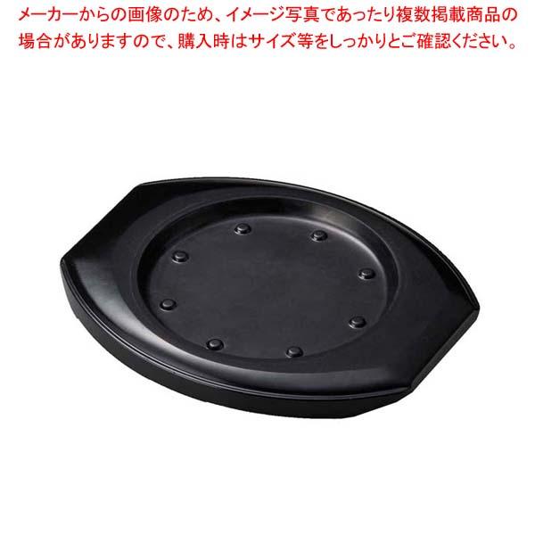 【まとめ買い10個セット品】 ステーキ台 丸用 小 ブラウン M44-092【 卓上鍋・焼物用品 】