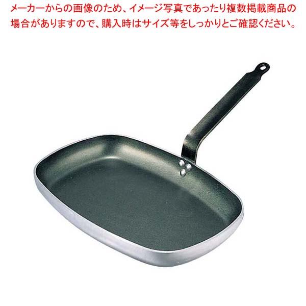 デバイヤー アルミノンスティック レクタングルフライパン 8184-38cm【 フライパン 】