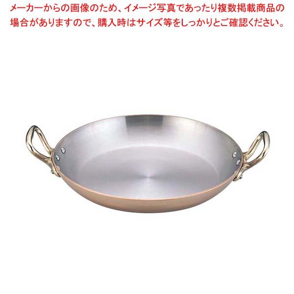 ムヴィエール カパーイノックス 両手ラウンドパン 16cm 6727(6527)【 ガス専用鍋 】