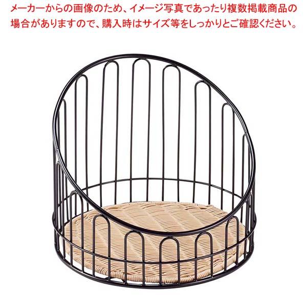 【まとめ買い10個セット品】 バゲットスタンド丸 DS508 低 ナチュラル φ355×H300
