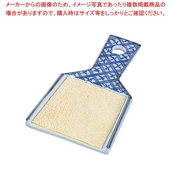 【まとめ買い10個セット品】 陶磁器製 鮫皮おろし 大(幅74×全長132)