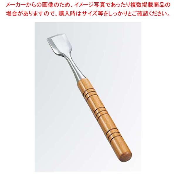 【まとめ買い10個セット品】 洋食用 氷ノミ 平丸 36×330