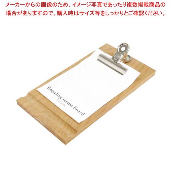 【まとめ買い10個セット品】 木製 リサイクルメモパッド 107850【 店舗備品・防災用品 】
