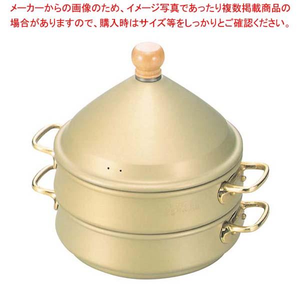 【まとめ買い10個セット品】 アルミ スチ-ム式 蒸籠 身 33cm