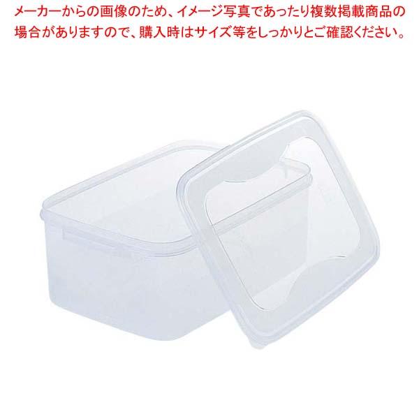 【まとめ買い10個セット品】 ぬか漬 シール容器 角 3.5L