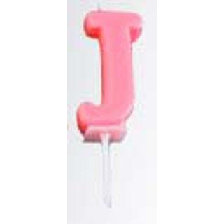 【まとめ買い10個セット品】 アルファベットキャンドル パステル(10入)J B7510-07-10