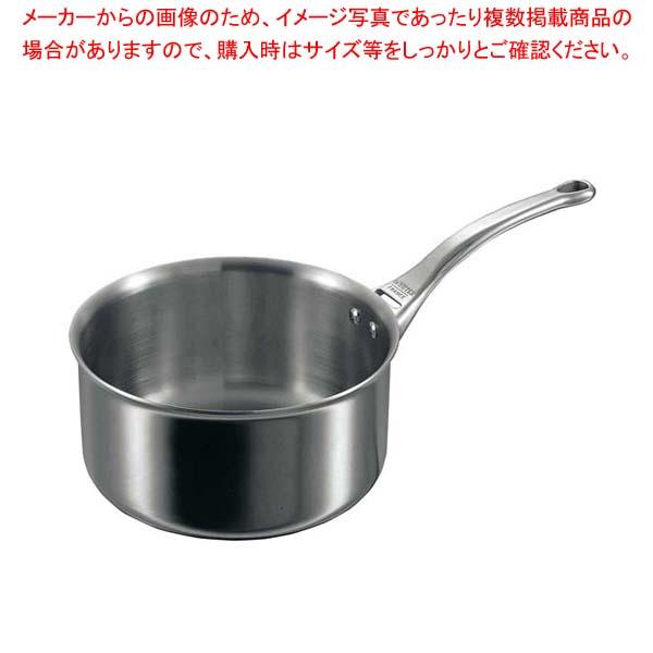 【まとめ買い10個セット品】 デバイヤー アフィニティ ソースパン(蓋無)3706-20cm【 IH・ガス兼用鍋 】