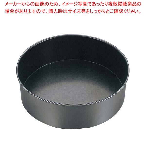 【まとめ買い10個セット品】 EBM ブリキ スーパーコート デコレーション型共底 15cm