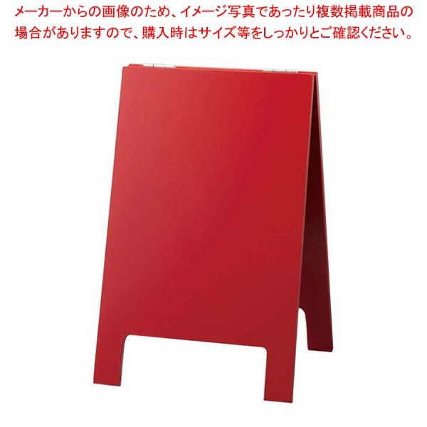 【まとめ買い10個セット品】 卓上メニュースタンド マーカー用 赤 TMD23-2【 メニュー・卓上サイン 】