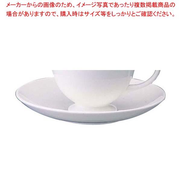 【まとめ買い10個セット品】 W・W ホワイトコノート ティーソーサー リー 53610003505【 和・洋・中 食器 】