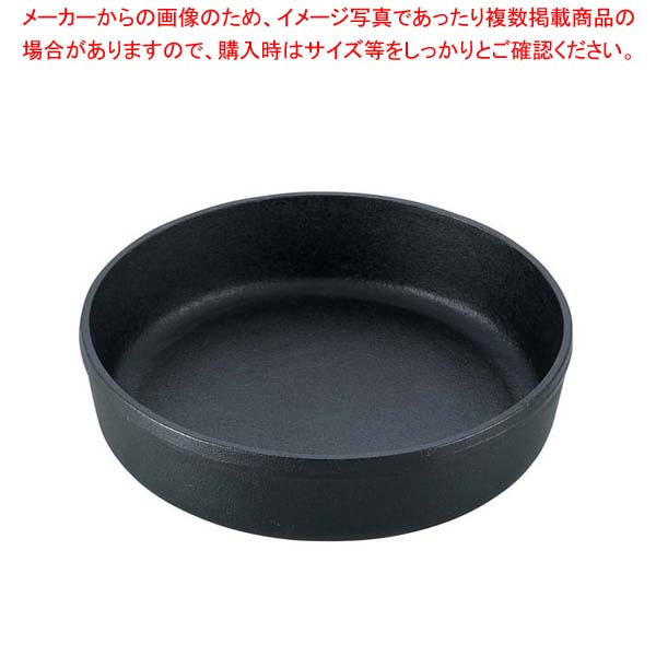 【まとめ買い10個セット品】 南部 鉄 すき焼鍋 丸 18cm