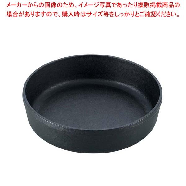 【まとめ買い10個セット品】 南部 鉄 すき焼鍋 丸 22cm【 卓上鍋・焼物用品 】