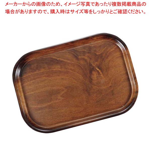 【まとめ買い10個セット品】 キャンブロ ノンスリップウッドトレイ 長角 PH556056