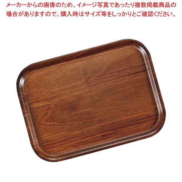 【まとめ買い10個セット品】 キャンブロ ノンスリップウッドトレイ 長角 PH556526