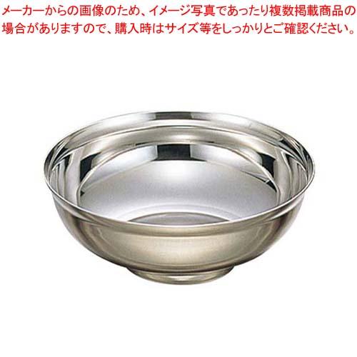 【まとめ買い10個セット品】 EBM18-8 段付補強 冷麺器 L(φ228)