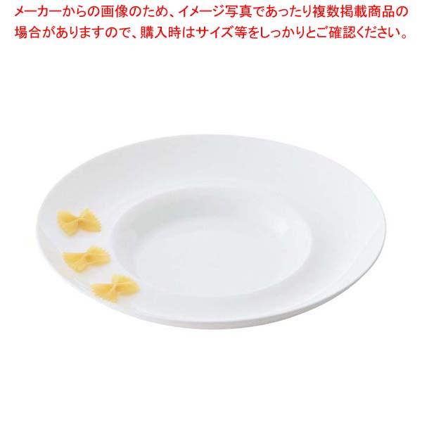 【まとめ買い10個セット品】 グランデビアンカ 深リムプレート(L)GB1875
