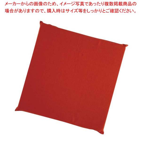 【まとめ買い10個セット品】 ウレタン座布団 EXU7050 赤【 メーカー直送/代金引換決済不可 】