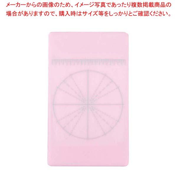 【まとめ買い10個セット品】 調理用目盛り入りまな板 長方形 M ピンク【 まな板 】