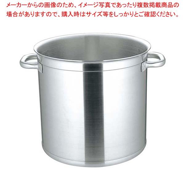 マトファ・ー/ブウジャ ストックポット(蓋無)6840 40cm 電磁【 IH・ガス兼用鍋 】