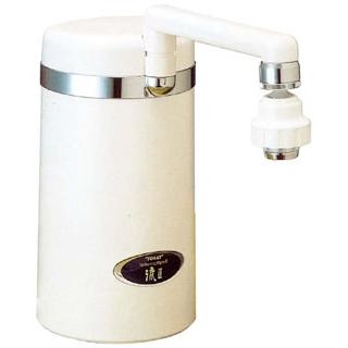 【まとめ買い10個セット品】 中空糸膜タイプ 浄水器 トレビーノ流II 白 SW-7J【 棚・作業台 】