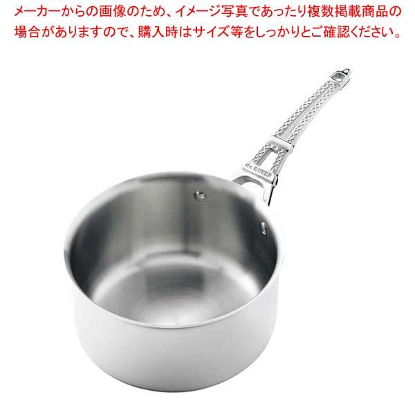 【まとめ買い10個セット品】 デバイヤーフレンチコレクションモンブル ソースパン(蓋無)3751・18【 IH・ガス兼用鍋 】