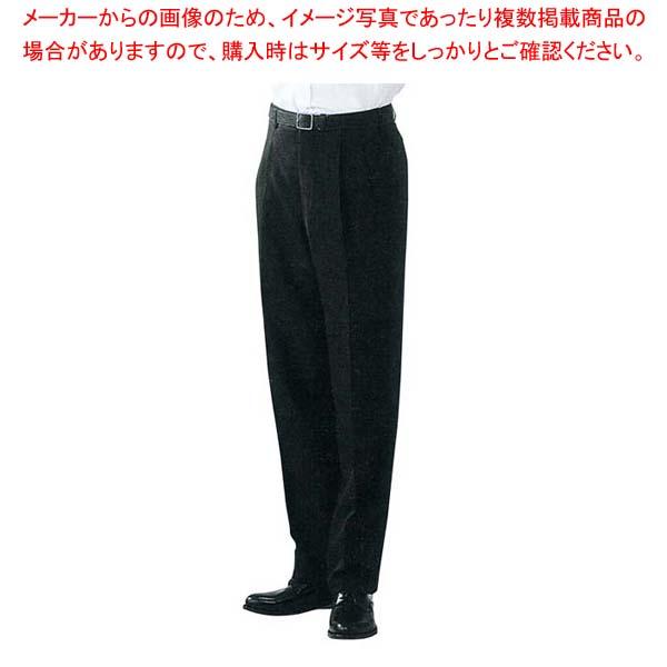 【まとめ買い10個セット品】 スラックス DL2969-9 ツータック 黒 ウエスト88cm