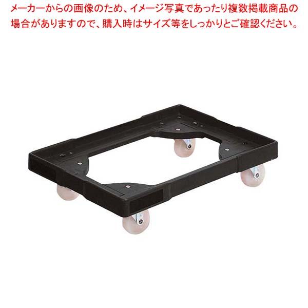 【まとめ買い10個セット品】 エースキャリーライト小型用 ブラック【 運搬・ケータリング 】
