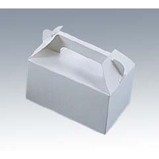 【まとめ買い10個セット品】 紙製 無地箱 白 02053 NO.3(50枚入)