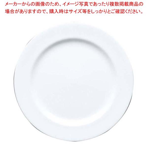 【まとめ買い10個セット品】 ファッションホワイト 27cm プレート FM900-201