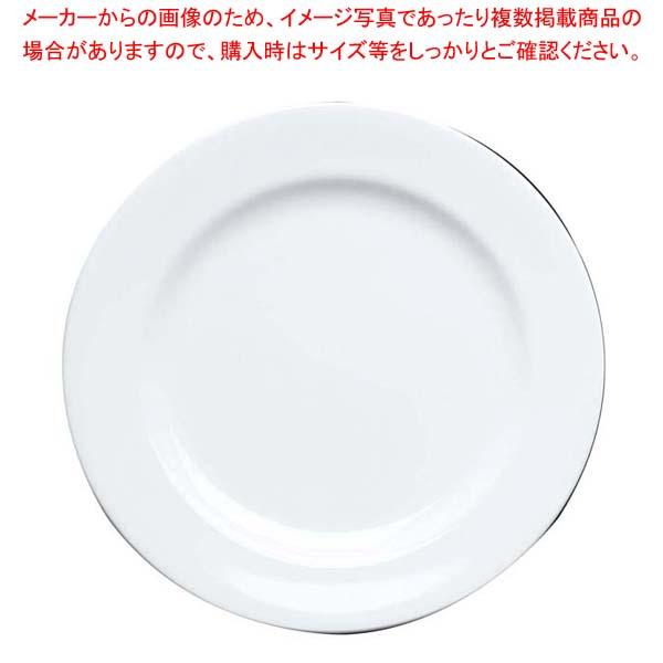 【まとめ買い10個セット品】 ファッションホワイト 23cm プレート FM900-209