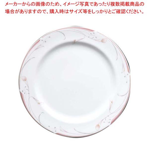 【まとめ買い10個セット品】 フラワーピンク 27cm プレート OFM01-201
